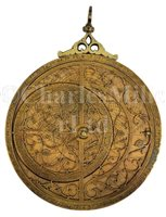 Lot 205 - A FINE LATE 19TH-CENTURY MAGHRIBI PLANISPHERIC...