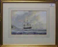 Lot 27 - TIM THOMPSON (BRITISH, B.1951) HMS...