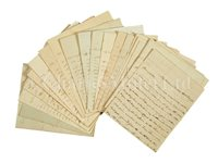 Lot 52 - ARCHIVE OF NAPOLEONIC ERA LETTERS BY...