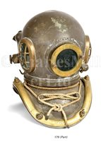 Lot 179-A SIX-BOLT ADMIRALTY-PATTERN DIVING HELMET BY...