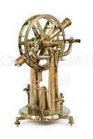 Lot 238 - A RARE 16½IN. GEODETIC THEODOLITE OR PORTABLE...