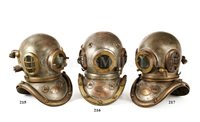 Lot 216-A 6-BOLT COPPER AND BRASS ADMIRALTY PATTERN...