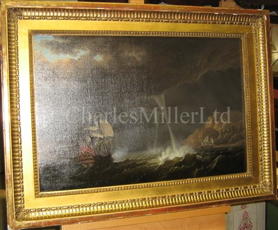 Lot 17 - OLIVIER LE MAY (1734-1797)<br/>An English Squadron...