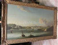 Lot 19 - JOHN THOMAS SERRES (ENGLISH, 1759-1825) - The Entrance to Plymouth Sound
