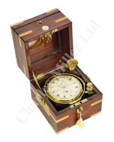 Lot 173 - Ø A TWO-DAY MARINE CHRONOMETER BY LITHERLAND, DAVIES & CO., LIVERPOOL, CIRCA 1840