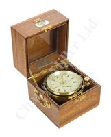 Lot 175 - A TWO-DAY MARINE CHRONOMETER BY GEORGE MOORE, LONDON, CIRCA 1865