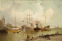 Lot 12-WILLIAM EDWARD WEBB (ENGLISH, 1862-1903) - Liverpool
