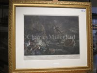 Lot 103 - SAMUEL ATKINS (ENGLISH, ACT. 1787-1808); The Wreck of the Halsewell