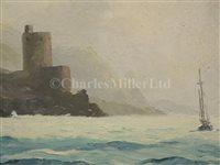 Lot 108 - HUGH E. RIDGE (ENGLISH, 1820-1883) - Off Cromwell's Castle, Tresco