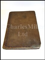Lot 105 - LOG BOOK OF THE H.C.S. BOMBAY, 1832