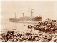 Lot 118 - SHIPWRECK PHOTOGRAPHS BY GIBSONS OF SCILLY