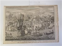 Lot 116 - 'THE RAISING OF YE SIEGE OF GIBRALTAR' … BY SIR JOHN LEAKE MARCH 20TH 1704/5'; and  3 others