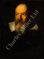 Lot 179 - AFTER JUSTUS SUSTERMANS, 19TH CENTURY - Portrait of Galileo