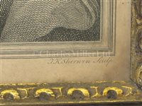 Lot 30 - AN 18TH CENTURY ENGRAVING OF CAPTAIN JAMES COOK