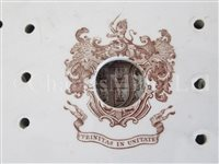 Lot 148 - A TRINITY HOUSE MEAT PLATTER, CIRCA 1840, and another similar