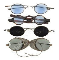 Lot 187 - Ø FOUR PAIRS OF TINTED SPECTACLES