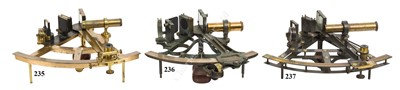 Lot 199 - AN EXCEPTIONAL 8IN. RADIUS VERNIER SEXTANT BY WILLIAM DOLLOND, LONDON, CIRCA 1860