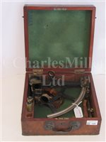 Lot 135 - AN 8IN. RADIUS VERNER SEXTANT BY WILLIAM DOLLOND, LONDON, CIRCA 1860, OWNED BY WALTER GOODSALL, NAVIGATION OFFICER ABOARD THE S.S. 'GREAT EASTERN' CIRCA 1865