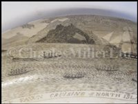 Lot 84 - Ø A FINE SAILORWORK SCRIMSHAW DECORATED WHALE'S TOOTH, 1830s-40s