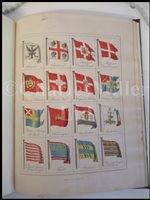 Lot 29-FISHER'S DISPLAY OF THE NAVAL FLAGS OF ALL NATIONS, 1838