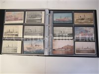 Lot 129 - UNION-CASTLE SHIPPING LINE, A HISTORY IN POSTCARDS