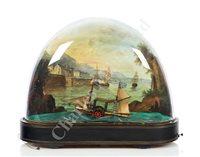 Lot 163 - A 19TH CENTURY MUSICAL ROCKING SHIP AUTOMATON