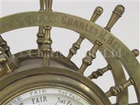 Lot 145 - A FINE MARINE-THEMED PRESENTATION CLOCK BY JONES & SONS, PARIS, CIRCA 1877