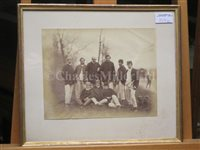 Lot 137 - THE OXFORD CAPTAIN'S WINNING BLADES FROM THE 1859 AND 1861 OXFORD & CAMBRIDGE BOAT RACES