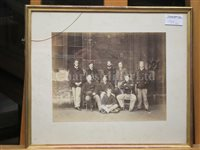 Lot 139 - THE OXFORD CAPTAIN'S BLADE FROM THE 1863 OXFORD & CAMBRIDGE BOAT RACE