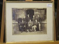 Lot 140 - THE OXFORD CAPTAIN'S WINNING BLADE FROM THE 1865 OXFORD & CAMBRIDGE BOAT RACE