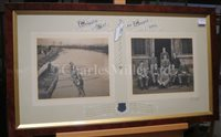 Lot 143 - A BLADE FROM THE 1906 TRINITY COLLEGE, OXFORD ROWING EIGHT