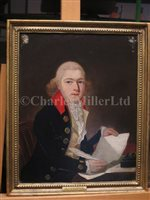 Lot 24-ENGLISH SCHOOL, CIRCA 1780 The Rev. Dr Lawrence Halloran, D.D., Chaplain on the Britannia at Trafalgar