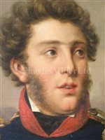 Lot 25-HILLEBRAND DIRK LOEFF (DUTCH, 1774-1845): Portrait of a Dutch Naval Officer, circa 1840