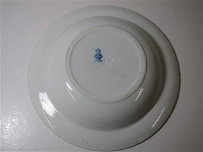 Lot 14-BRITISH AFRICAN STEAM NAVIGATION CO. LTD: CHINA SOUP PLATE WITH COMPANY CREST, BY MINTON, CIRCA 1904