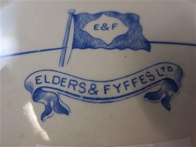 Lot 48-ELDERS & FYFFES:  A CHAMBER POT BY DUNN BENNETT & CO. LTD, ENGLAND, CIRCA 1910