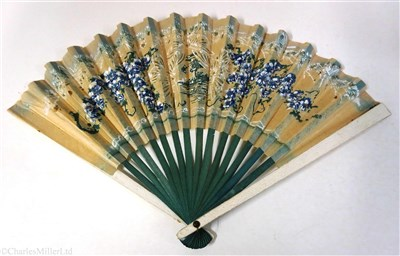 Lot 79-ORIENT LINE:  A FAN FROM THE S.S. ORION, CIRCA 1935