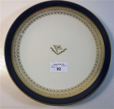 Lot 92-ROYAL MAIL STEAM PACKED CO.:  A CHINA BOWL BY ROYAL DOULTON, ENGLAND CIRCA 1935