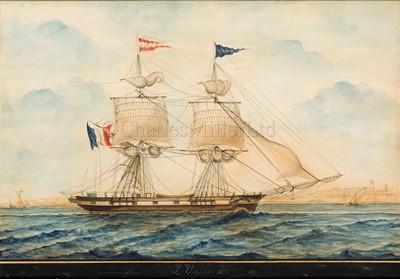 Lot 7-JOSEPH HONORÉ MAXIME PELLEGRIN (FRENCH, 1793-1869) 'L'Union' 1831