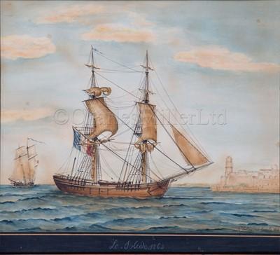Lot 6-JOSEPH HONORÉ MAXIME PELLEGRIN (FRENCH, 1793-1869) Le Solide, 1862