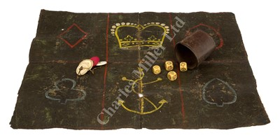 Lot 50-Ø A RARE SAILOR'S BOARD GAME, PROBABLY FIRST HALF 19TH CENTURY