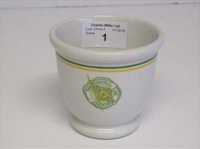 Lot 1-Admiral Line Oriental: slop bowl