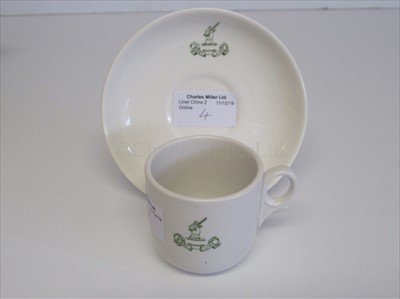 Lot 4-Bibby Line: A cup and saucer