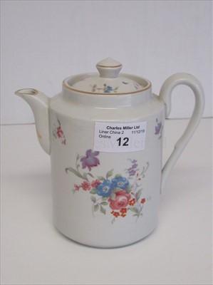 Lot 12-Blue Star Line: a coffee pot