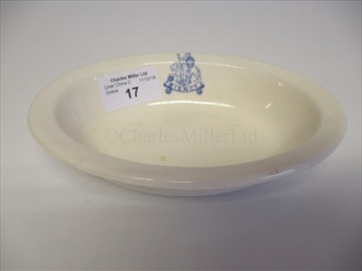 Lot 17-British India Steam Navigation Company: An oval vegetable dish