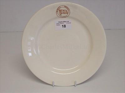 Lot 18-Buries Markes Ltd: A 'Royal Falconware' side plate