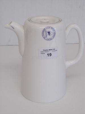 Lot 19-Caledonian Steam Packet Company Ltd: A coffee pot