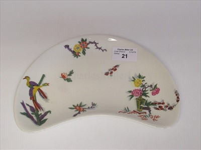 Lot 21-Canadian Pacific Steamship Lines crescent side plate