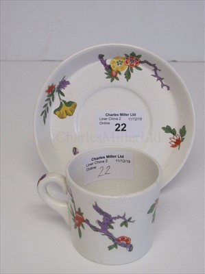 Lot 22-Canadian Pacific Steamship Lines cup and saucer