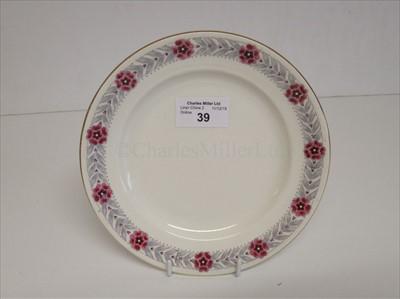 Lot 39-D. Macbrayne Ltd: a side plate