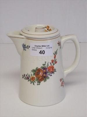 Lot 40-Donaldson Line: a coffee pot